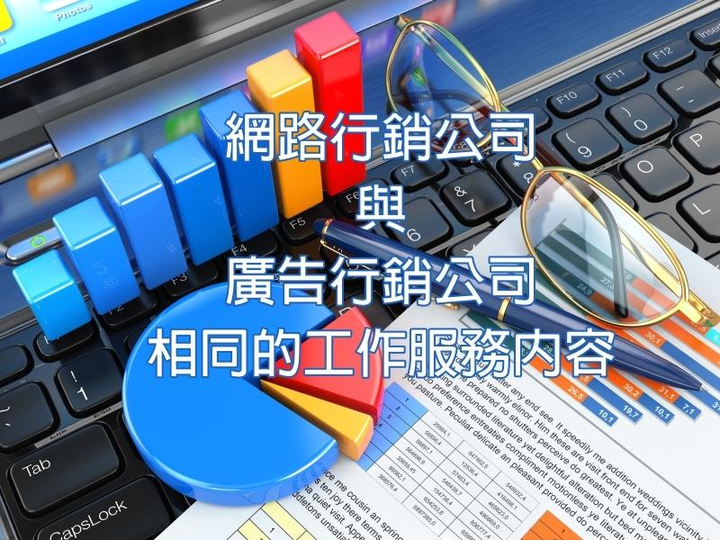 網路行銷公司與廣告公司相同的工作服務內容